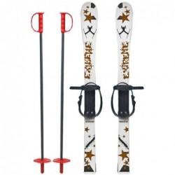 Skiuri copii 90 cm Marmat