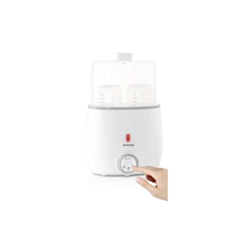 Incalzitor si sterilizator pentru biberoane Warmy Twin Miniland