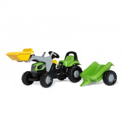 Tractor cu pedale remorca...