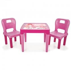 Set masa cu doua scaune...